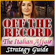 Download Off the Record: The Italian Affair Strategy Guide game
