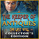 Download The Keeper of Antiques: The Last Will Collector's Edition game